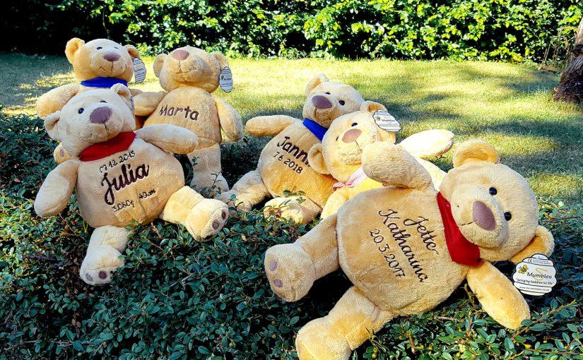 Teddys mit Namen