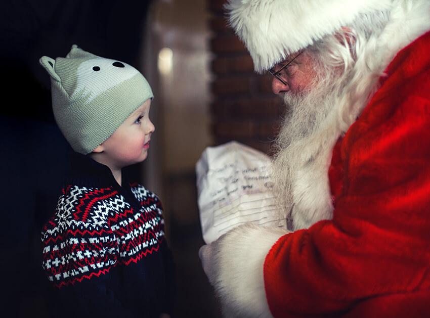 Weihnachtsgeschenke mit Namen
