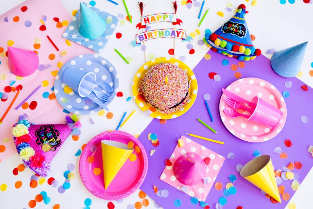 Kindergeburtstag - Das Geburtstagskind lässt sich feiern