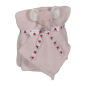 Preview: Cuddle set Pink Elephant - Blanket + Mini Blankey