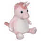 Preview: Soft toy with name - Unicorn Rosa, 16 inch