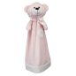 Preview: Cuddle cloth with name - Blankey teddy pink, 20 inch