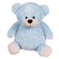 Preview: Soft toy with name - Blue Teddy, 16 inch