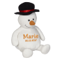 Preview: Soft toy with name - Snowmann, 16 inch
