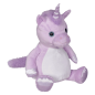 Preview: Plush Toy with Name - Unicorn Violet, 16 inch