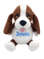 Preview: Soft toy with name - Hunting dog, 16 inch