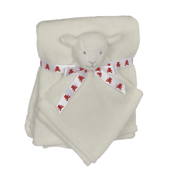 Cuddle set Tender lamb - Blanket + Mini Blankey
