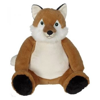 Soft toy with name - Classic Fox Frederick, 16 inch