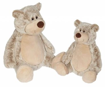 Plush toy with name - Classic Teddy Benjamin, 22 and 16 Inch