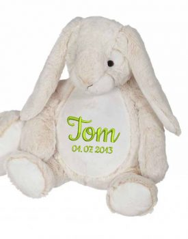 Soft toy with name - Classic Bunny Bella Bunny, 16 inch
