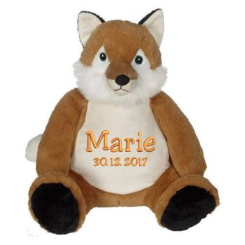 Soft toy with name - Classic Fox Frederick, 22 inch