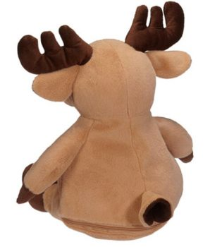 Soft toy with name - Moose, 16 inch