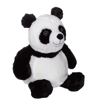 Soft toy with name - Panda, 16 inch