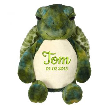 Soft toy with name - Turtle 16 inch