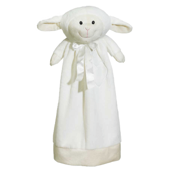 Cuddle cloth with name - Blankey lamb, 20 inch