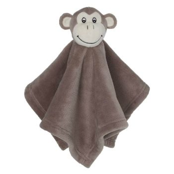 Cuddle Blanket with Name - Mini Blankey Monkey, 16 inch