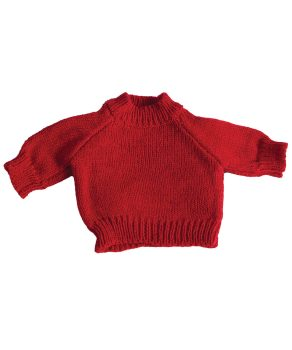 Teddy Pullover Red