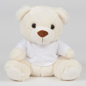 Bear in a t-shirt | cream | 20 cm and 30 cm