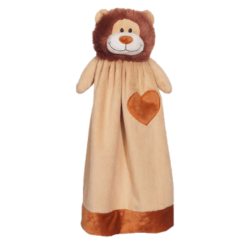 Cuddle cloth with name - Blankey lion, 20 inch