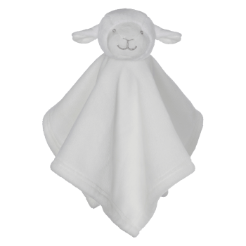 Cuddle cloth with name - Mini Blankey lamb, 16 inch