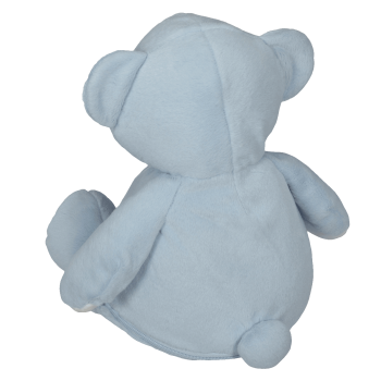 Soft toy with name - Blue Teddy, 16 inch