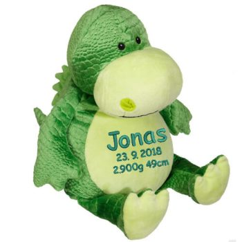 Soft toy with name - Sweet Dino, 16 inch