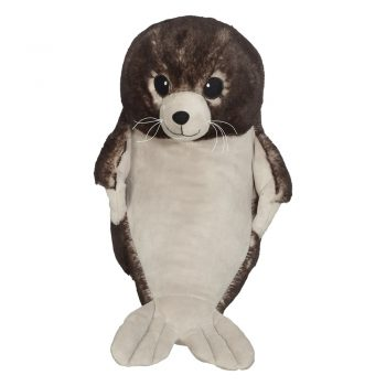 Soft toy with name - Seal, 16 inch