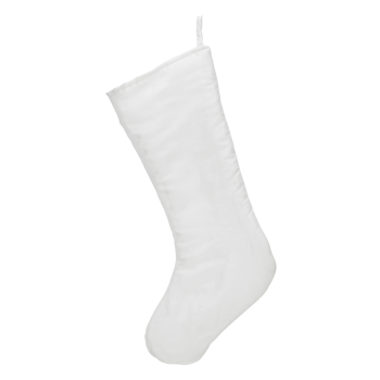 Chic Christmas Stocking, white