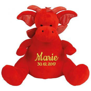 Plush toy with name - Dragon Zippie, 42 cm