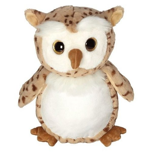 Soft toy with name - Classic Owl, 16 inch