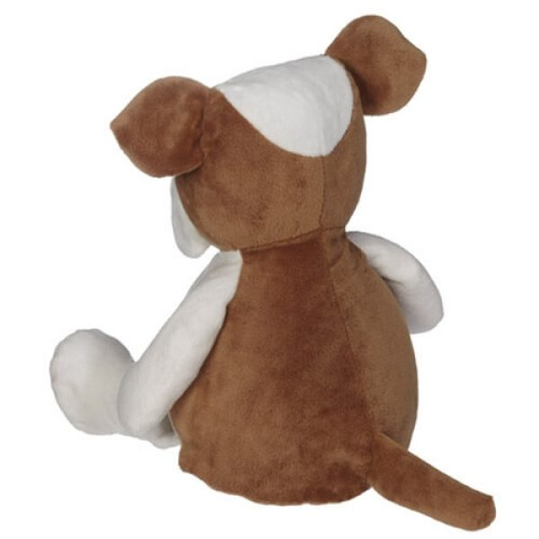 Plush toy with name - Bulldog, 16 inch