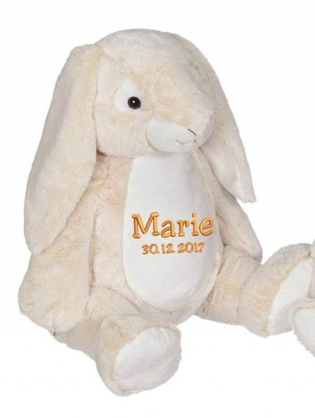 Soft toy with name - Classic Bunny Bella Bunny, 22 inch