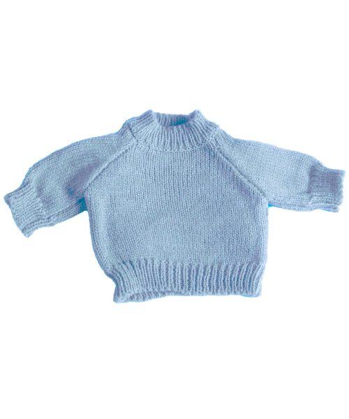 Teddy Pullover Baby Blue