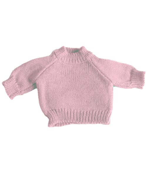 Teddy Pullover Baby Pink