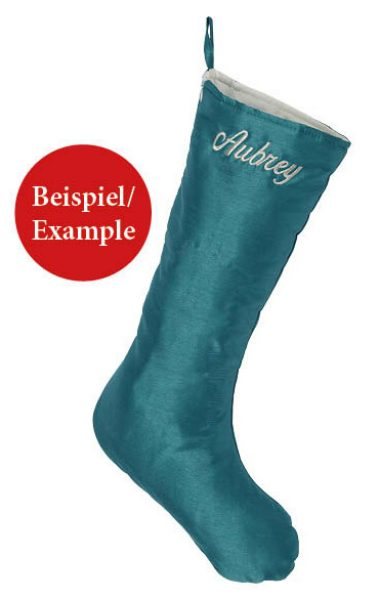 Chic Christmas Stocking, Example