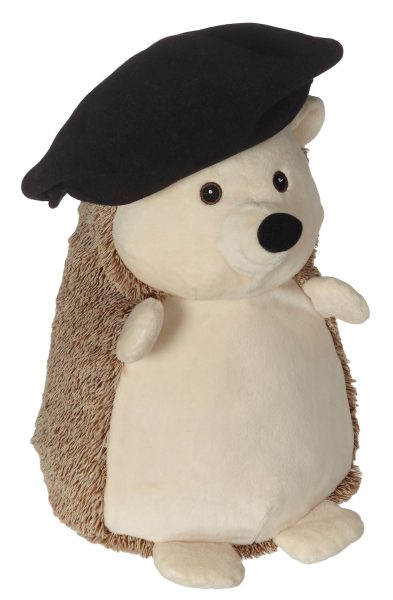 Soft toy with name - Hedgehog, 16 inch
