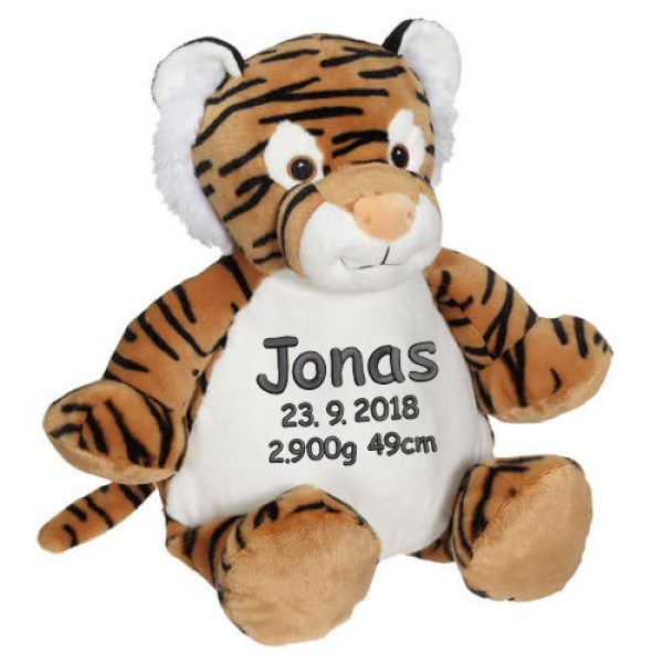 Tiger Troy, Soft toy with name