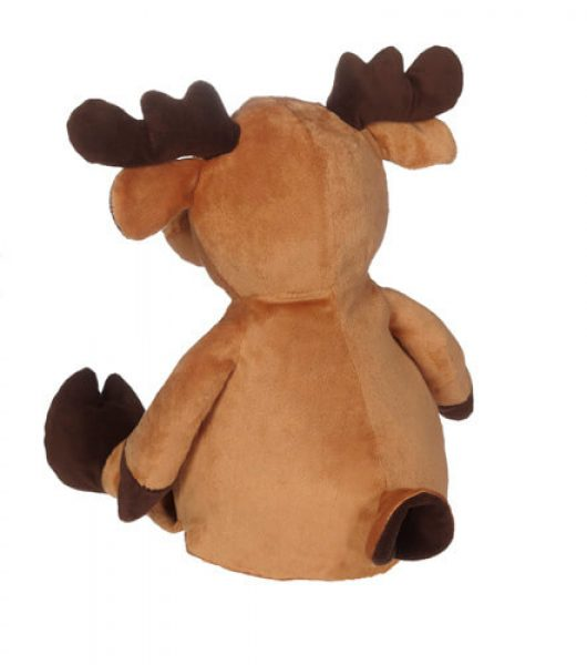 Soft toy with name - Reindeer, 16 inch