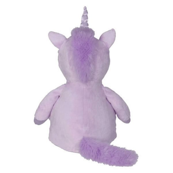 Plush Toy with Name - Unicorn Violet, 16 inch