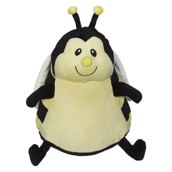 Plush toy with name - Sweet Bee Bumblebee, 16 inch