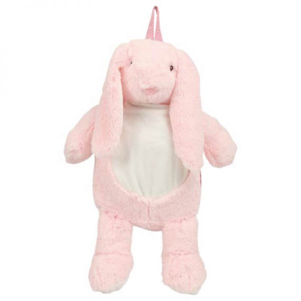 Backpack with name - Backpack Bunny, 38 cm