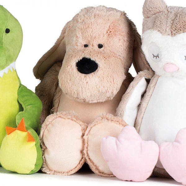 Soft toy with name - dog Zippie, 45 cm